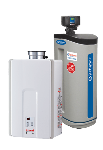 Water Heaters - Tankless, Electric, Gas & More | Reliance Home Comfort