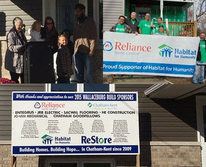 Reliance Habitat for Humanity Partnership