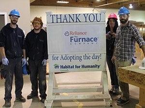 Habitat for Humanity Edmonton build