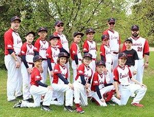 Supporting Baseball Edmonton Team