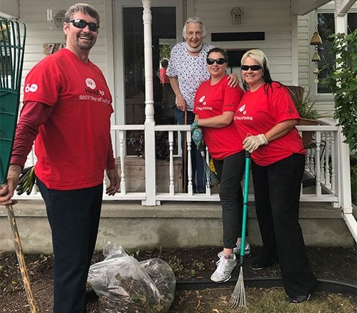 Our Reliance Sarnia / Chatham team took part in The United Way Day of Caring event on October 4, 2017.
