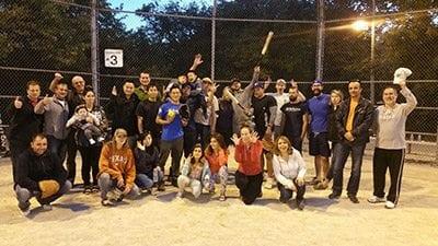 Baseball night