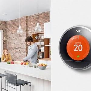 Nest thermostat saving energy