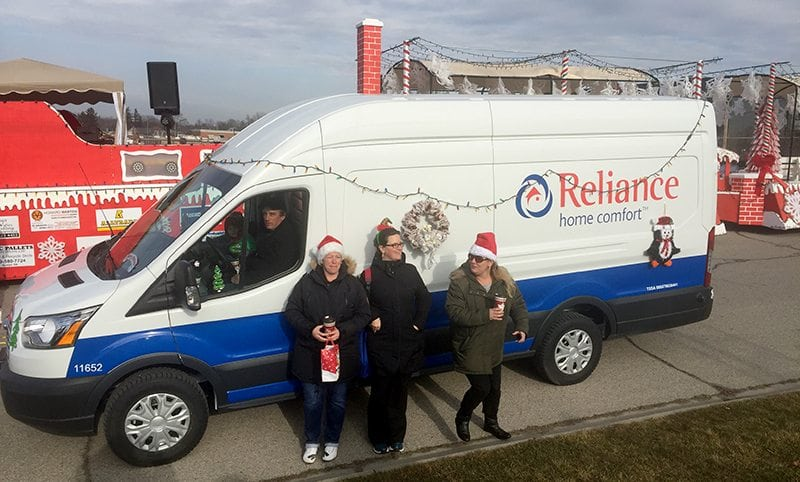 Reliance Cambridge Santa Claus parade