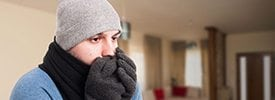 Reliance can help solve your cold home issues