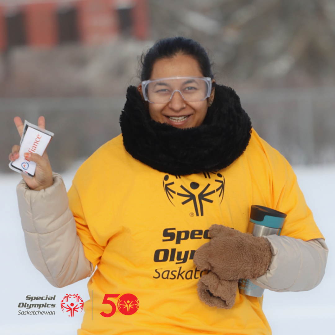 Special Olympics Athlete Saskatoon
