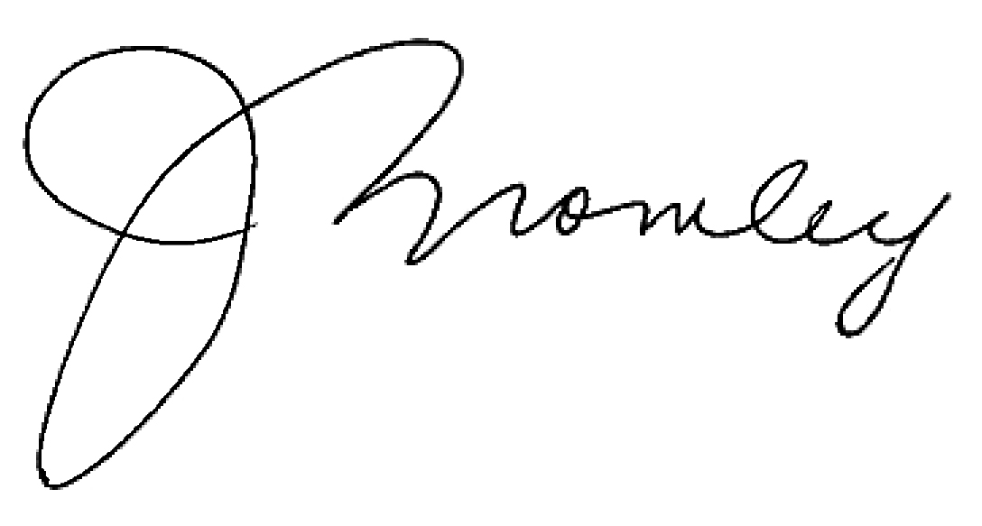 Jennifer Bromley Signature